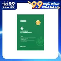 Mặt nạ hỗ trợ trị mụn Caryophy Portulaca Mask Sheet 3IN1 22g