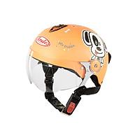 Mũ Bảo Hiểm Andes Trẻ Em Có Kính - 3S108SK Tem Nhám S101