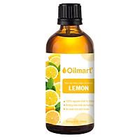 Tinh Dầu Thiên Nhiên Vỏ Chanh Oilmart Lemon Essential Oil 100ml