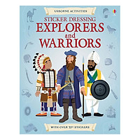 Usborne Sticker Explorers & Warriors