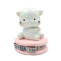 Tượng Hình Mèo JIE MAO - Màu Hồng