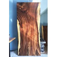 Mặt bàn gỗ me tây nguyên tấm tự nhiên KT 4.5x87x220cm