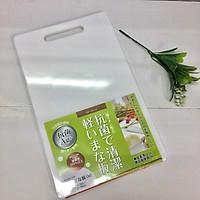 Bộ 3 thớt nhựa tráng ion bạc bảo vệ sức khỏe, dày vừa 10mm - Hàng nội địa Nhật