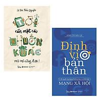 Combo 2 Cuốn Sách Kỹ Năng Sống Cực Hay Để Bạn Thật Thành Công Trong Cuộc Sống: Tôi Cần Một Cái Khuôn Khác Méo Mó Cũng Được + Định Vị Bản Thân / Sách Tư Duy - Kỹ Năng Sống Hay (Tặng Kèm Bookmark Happy Life)