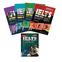 Combo trọn bộ 4 cuốn  Luyện thi IELTS + Tài luyện luyện thi nói IELTS ( tặng giá đỡ iring cte)