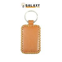Móc Khóa Da Bò Thật Handmade Galaxy Store Móc Chìa Khóa Xe GMK01 (5 x 3.5 cm) - Hàng Chính Hãng