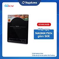Bếp Từ Đơn Nagakawa NAG0705 (2000W) - Kèm Nồi Lẩu - Hàng Chính Hãng
