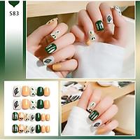 Bộ 24 móng tay giả nail thơi trang như hình (R-083)