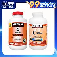 Viên Uống Kirkland Signature Vitamin C 1000mg 500 viên, Tăng Cường Hệ Miện Dịch, Sức Đề Kháng, Sáng Da, Chống Lão Hóa, Phòng Cảm Cúm