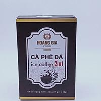 Cà phê đá 2 trong 1 thơm ngon tuyệt hảo 204g (17 gói x 12g)
