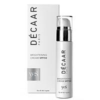 Kem chống nắng trắng sáng  hỗ trợ nám da Brightening Cream SPF50 Decaar (50ml)