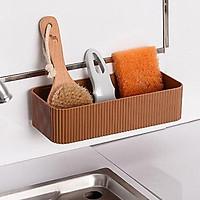 North Europe Plastic Shelf Storage Holder With Sucker Kitchenware Toiletry Bathroom Organizer