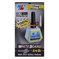 Hộp 6 Mực Bút Lông Bảng Thiên Long WBI-01 - Đen