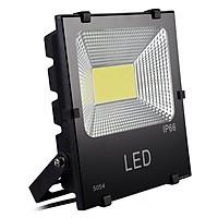 Đèn pha LED vỏ nhôm đúc nguyên khối, kính cường lực, công suất 50w (đủ w)