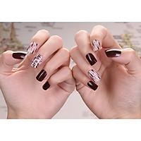 Bộ 24 móng tay giả nail thơi trang như hình (M96)