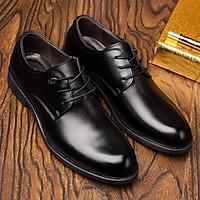 Giày da nam giám đốc, giày doanh nhân, giày nam cổ điển mũi tròn - Mã 36578