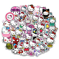 Sticker Hello Kitty set 60 ảnh decal hình dán