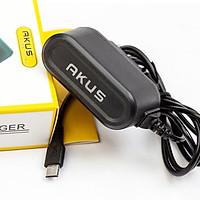 Sạc liền dây chân Micro USB Akus - V8610 Hàng chính hãng