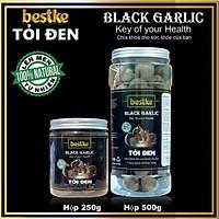 Black garlic tỏi đen bestke lên mem tự nhiên theo công nghệ Nhật Bản, combo 2 Hộp 250g và 500g