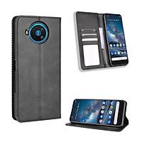 Bao da dành cho Nokia 8.3 5G Flip Wallet Leather dạng ví đa năng siêu bền siêu êm