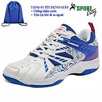 Giày cầu lông kawasaki K080 chính hãng dành cho cả nam và nữ, chuyên nghiệp chống trơn trượt 3 màu-tặng túi rút thể thao
