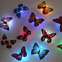 Đèn ngủ bướm phát sáng trang trí tường