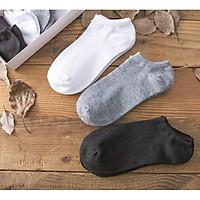 Vớ Tất Nam Nữ Nhật Cotton 100% Ba Màu Cơ Bản Cực Mỏng Hiruma TN01
