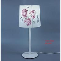 Đèn bàn gỗ ngôi nhà hoa hồng, đèn trang trí nội thất, đèn để bàn phòng ngủ hàng chính hãng.