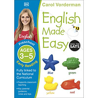 Sách - English Made Easy Preschool Early Reading Ages 3-5ages 3-5 Preschool