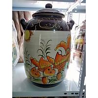 Hũ đựng rượu gạo Bát Tràng loại 20L