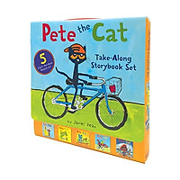 Pete The Cat Take-Along Storybook Set