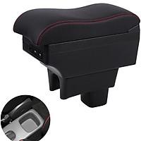 Hộp tỳ tay ô tô, xe hơi cao cấp dành cho xe Suzuki Swift  tích hợp 6 cổng USB (EXPD-SZK-D)