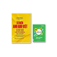 Từ Điển Oxford Anh Việt 350.000 Từ ( bìa vàng cứng ) ( tặng kèm 360 Động Từ Bất Quy Tắc Và 12 Thì Tiếng Anh Cơ Bản )