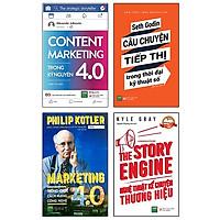 Bộ Sách Marketing Trong Thời Đại 4.0 (Bộ 4 Cuốn)