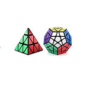 Combo 2 rubik tam giác và rubik 12 mặt