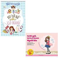 Bộ 2 cuốn sách dành cho con gái tuổi dậy thì: Từ Cô Bé Đến Cô Nàng - Bé Gái Tôi Trở Thành Người Lớn