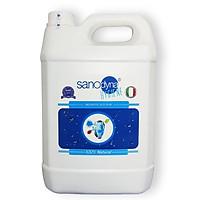 Dung dịch sát khuẩn đa năng  Anolyte 100% tự nhiên thương hiệu Sanodyna công nghệ ITALIA dung tích 5 lít.