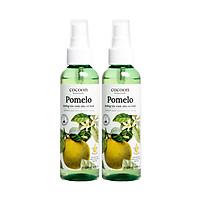 Combo 2 Pomelo xịt dưỡng tóc tinh dầu vỏ bưởi...