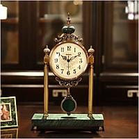 Đồng hồ để bàn quả lắc phong cách Mỹ DH82