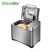 Máy làm bánh mì cao cấp kết hợp trộn bột, ủ men, nướng tự động BioloMix BBM013, tích hợp cả các chương trình nấu các món mứt, dăm bông, bánh giò,..- Hàng chính hãng