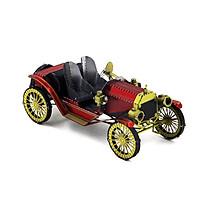 Mô hình thép 3D tự ráp ô tô cổ màu