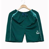 Quần đùi nam mặc nhà vải thun mịn mặc thoải mái nhẹ nhàng size dưới 65kg