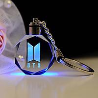 Móc khóa phát sáng logo BTS