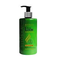Dầu xả bồ kết thảo dược, kích thích mọc tóc, dưỡng tóc, ngừa xơ rối, phục hồi tóc suôn mượt Herbal Luxury Biyokea 320ml