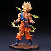 Mô Hình - Figure Son Goku Super Saiyan Cao 17cm - Dragon Ball