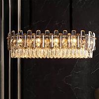 Đèn chùm pha lê cao cấp thiết kế sang trọng trang trí phòng khách, bàn ăn, nhà hàng, quán cafe TPL.88207N8