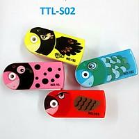 Gọt chì hình cá TTL - S02 (153 - giao màu ngẫu nhiên)