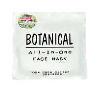 Mặt nạ dưỡng ẩm Botanical All In One Face Mask Nhật Bản (Gói 30 miếng)