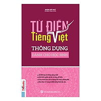 Từ Điển Tiếng Việt Thông Dụng Dành Cho Học Sinh (Bìa Hồng) tặng kèm bút tạo hình ngộ nghĩnh