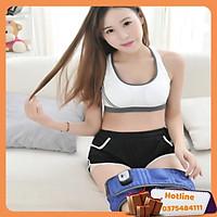 Đai Massage Giảm Mỡ Bụng X5- Xanh - Hàng Loại 1
